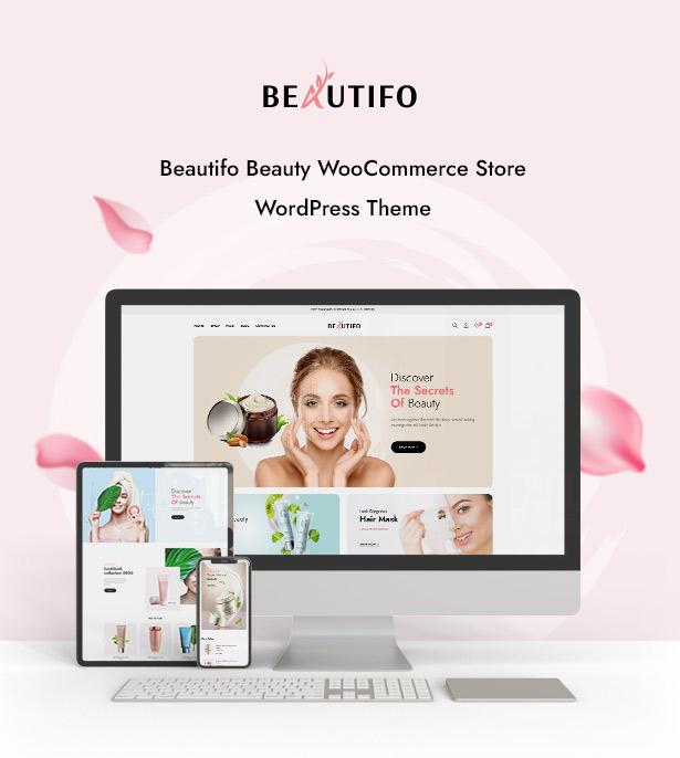 Beautifo Beauty WooCommerce WordPress Theme - Beautifo Preview
