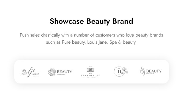 Beautifo Beauty WooCommerce WordPress Theme - Showcase Beauty Brand