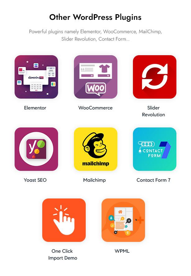 Beautifo Beauty WooCommerce WordPress Theme - Integrated WordPress Plugins