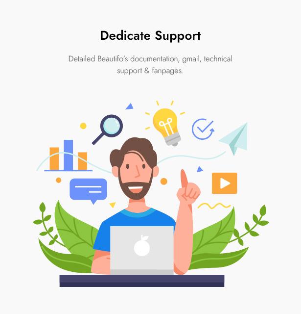 Beautifo Beauty WooCommerce WordPress Theme - Dedicate Support