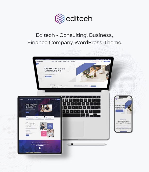 Editech Corporate Business WordPress Theme