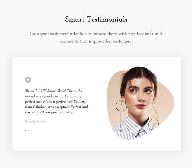 Testimonial Giftshop WooCommerce Theme