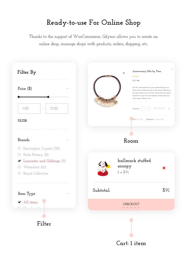 Shopping online - Giftshop WooCommerce Theme