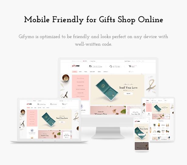 Mobile Friendly Giftshop WooCommerce Theme