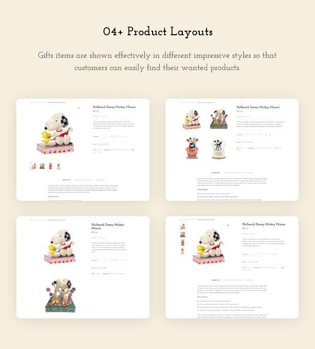Product Page - Giftshop WooCommerce Theme