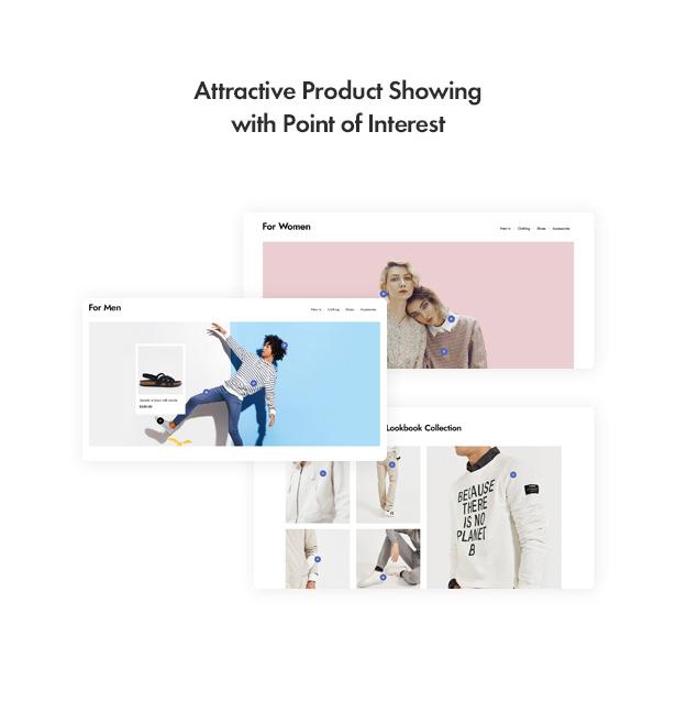 Jenik Gutenberg Fashion WooCommerce Theme - Point of Interest