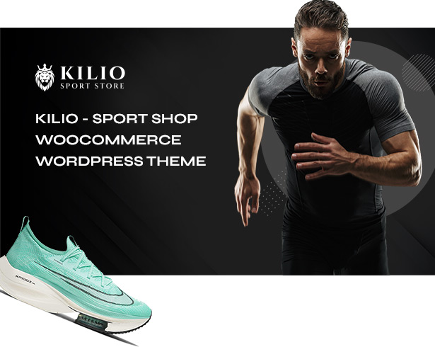 Sport shop Woocommerce Wordpress Theme