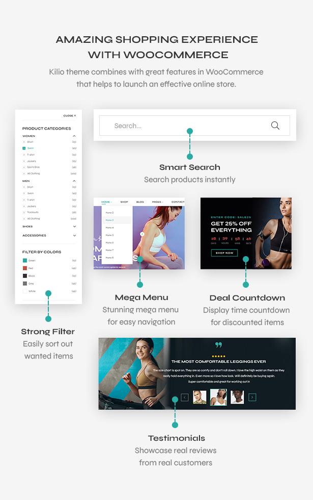WooCommerce - Sport shop Woocommerce Wordpress Theme